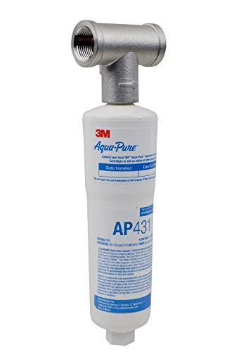3M Aqua-Pure Whole House Scale Inhibition Inline Water System AP430SS, Helps Prevent Scale Build Up...