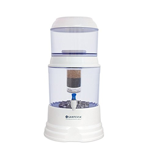 Santevia Gravity Water System - Countertop Model (with Fluoride Filter)