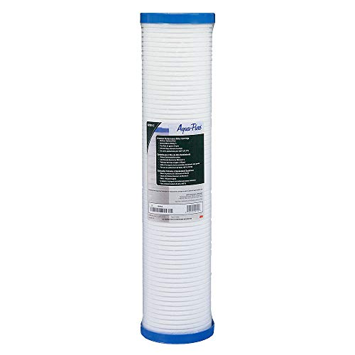 3M Aqua-Pure AP800 Series Whole House Replacement Water Filter Drop-in Cartridge AP810-2, Large...
