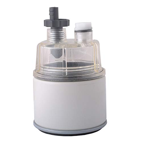 R12T Fuel Filter/Water Separator, 120AT NPT ZG1/4-19 and Nylon Collection bowl Replacement Element...