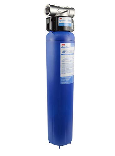 3M Aqua-Pure Whole House Sanitary Quick Change Water Filter System AP904, Reduces Sediment, Chlorine...
