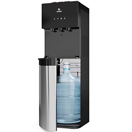 Avalon Bottom Loading Water Cooler Water Dispenser with BioGuard- 3 Temperature Settings - Hot, Cold...