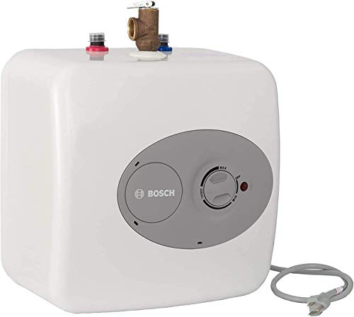 Bosch Electric Mini-Tank Water Heater Tronic 3000 T 4-Gallon (ES4) - Eliminate Time for Hot Water -...