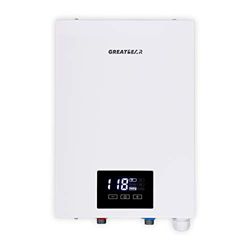 Electric Tankless Water Heater 240V Electric Hot water Heater Self-Modulation on Demand Water Heater...