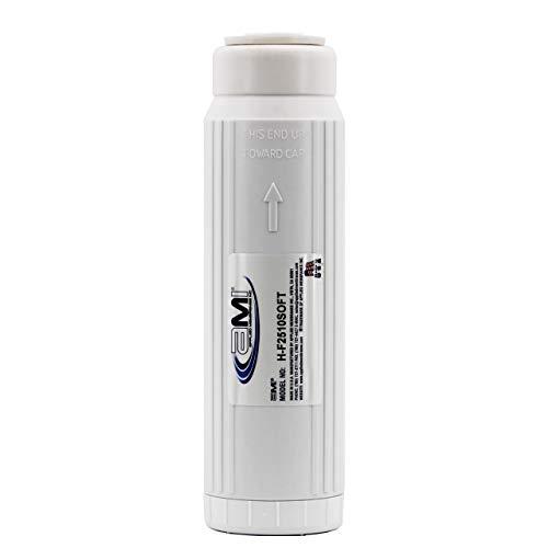 Water Softening Filter Cartridge | 10' Standard Universal Size | Ion Exchange Filter Softens Water |...