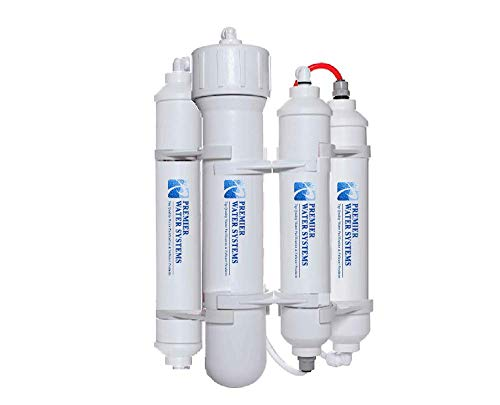 Premier Portable/Travel RO Mini: Reverse Osmosis Drinking Water Filter System 50 GPD | 4-Stage