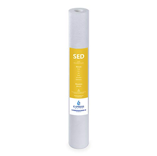 Express Water – Sediment Replacement Filter – Whole House Replacement Water Filter – SED High...