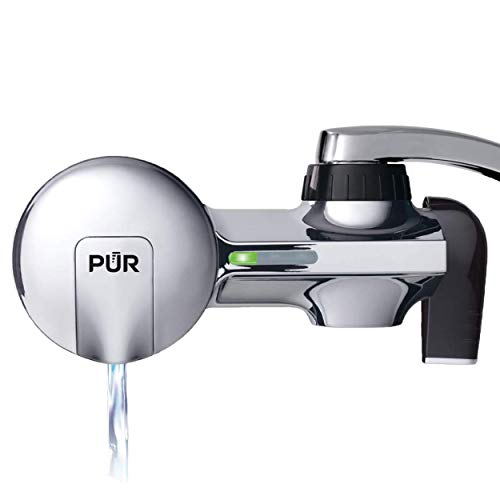 PUR PFM800HX Faucet Water Filtration System with Bluetooth, Horizontal, Chrome