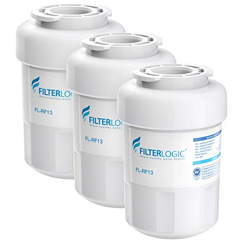 FilterLogic MWF Refrigerator Water Filter, Replacement for GE SmartWater MWFP, MWFA, GWF, HDX FMG-1,...