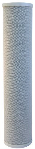 Carbon Water Filter | 20' Big Blue (4.5' Dia. x 20'L) | Whole House or Commercial Water Filtration...