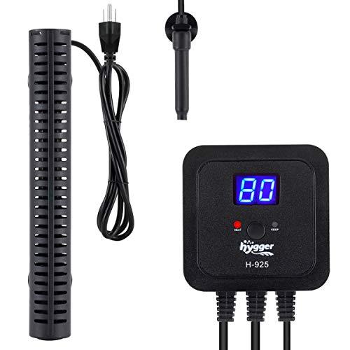 hygger 300W Aquarium Heater for Fresh-Water Salt-Water, with External Digital Display Thermostat...