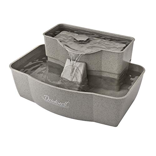 PetSafe Drinkwell Multi-Tier Cat and Dog Drinking Fountain, 100 Ounce Capacity Automatic Water...