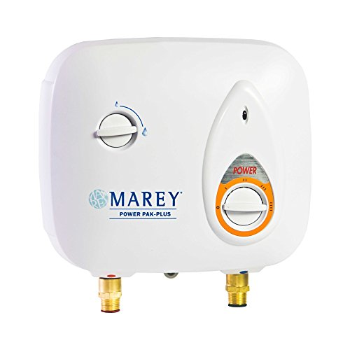 Marey Power Pak Plus Tankless Electric Water Heater, 110 VOLT
