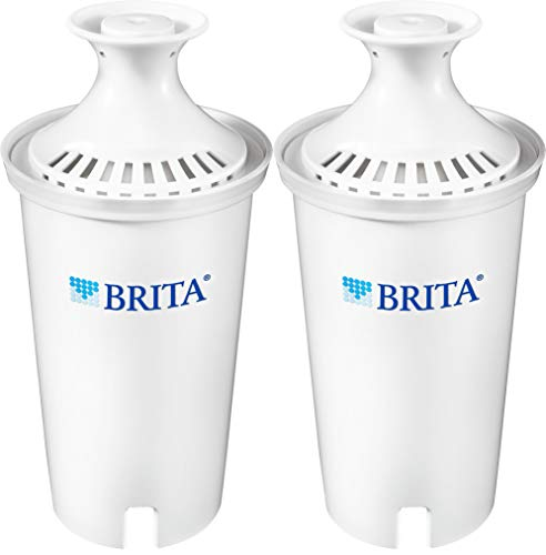 Brita Standard Replacement Filters for Pitchers and Dispensers, 2ct