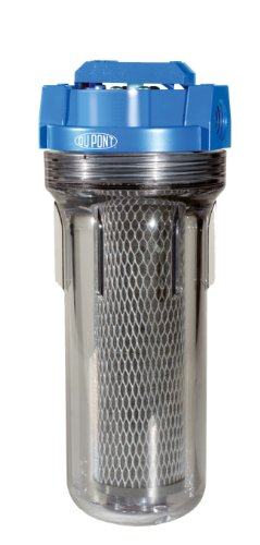 DuPont WFPF38001C Universal Valve-in-Head Whole House Water Filtration System,blue