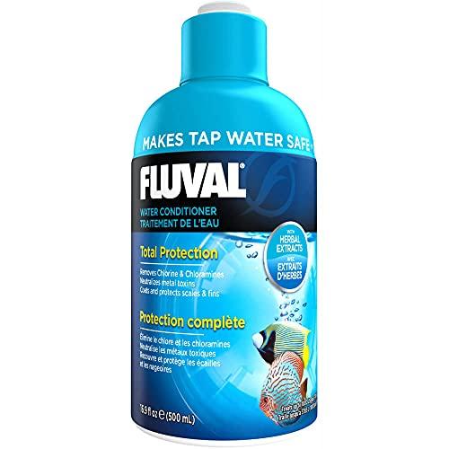 Fluval AquaPlus Water Conditioner, Aquarium Water Treatment, 16.9 Oz., A8344
