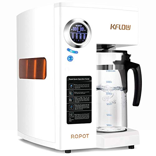 KFLOW Countertop Reverse Osmosis System, 4-Stage Water Filter System, Double RO Reverse Osmosis...