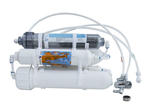 Alkaline (Raise pH Level) 5-Stage Countertop Reverse Osmosis Water Purification System, 75 GPD...