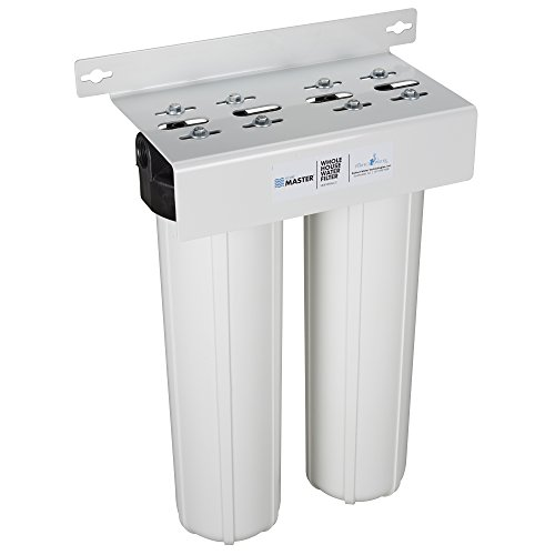 Home Master HMF2SmgCC Whole House Two Stage Filtration System Water Filter