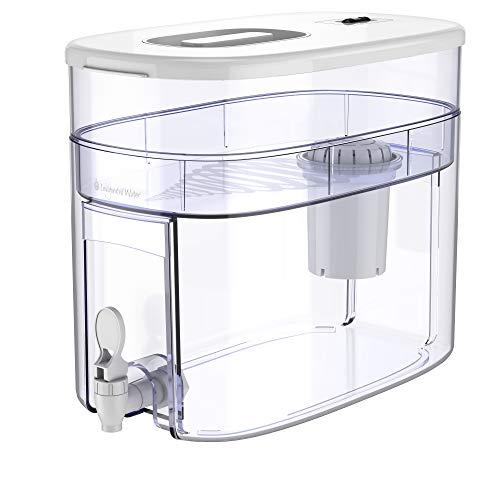 pH Recharge 1F Alkaline Water Filter – Countertop Water Filter Purifier Machine – Large Alkaline...