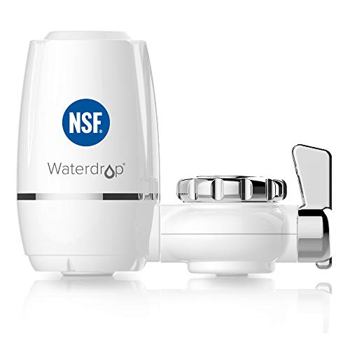 Waterdrop WD-FC-03 NSF Certified 320-Gallon ACF Water Faucet Filtration System, Faucet Filter,...
