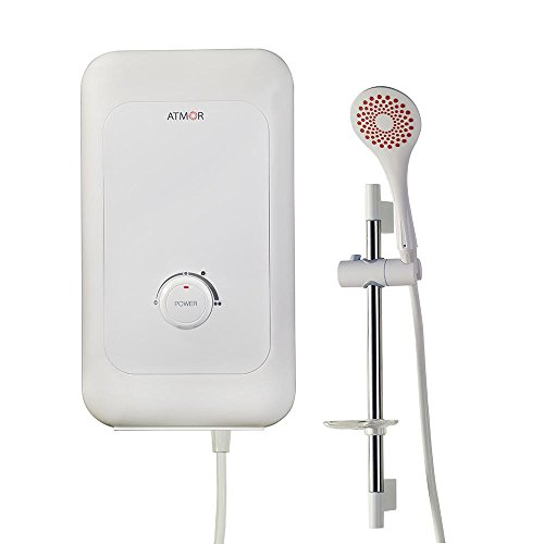 ATMOR 6 kW Electric Tankless Water Heater Shower System