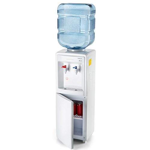 Farberware FW29919 Freestanding Hot and Cold Water Cooler Dispenser - Top Loading Freestanding Water...