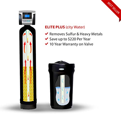 SoftPro Elite Plus High Efficiency 32,000 Grain water softener and filter whole house system using...