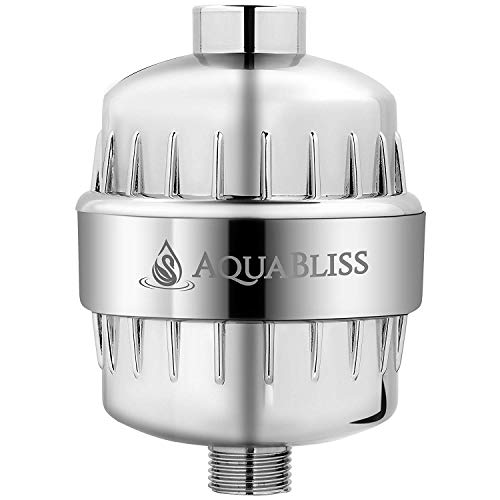 AquaBliss High Output Revitalizing Shower Filter - Reduces Dry Itchy Skin, Dandruff, Eczema, and...