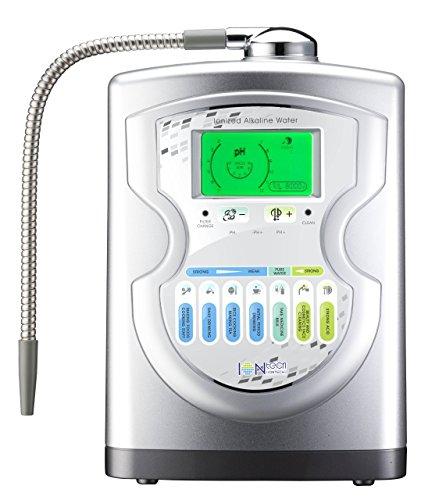 IntelGadgets IONtech IT-757 Advanced Alkaline Water Ionizer Machine 7 pH Water Levels, Platinum...