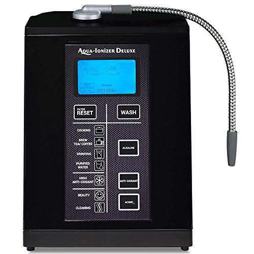 Aqua Ionizer Deluxe 9.5 Anti-Oxidant Boost Water Ionizer | Alkaline Water Filtration System |...