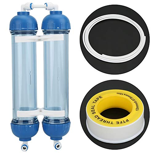 Sugoyi Water Purifier Pipe, 3.3 Meters Water Hose Water Purifier Quick Fitting with RO 1/4 Filter...