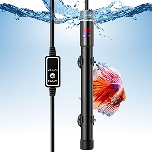 VIVOSUN 300W Aquarium Heater Submersible Titanium Fish Tank Heaters with Intelligent LED Temperature...