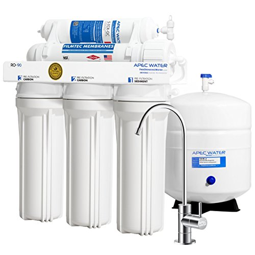 APEC Water Systems RO-90 Ultimate Series Top Tier Supreme Certified High Output 90 GPD Ultra Safe...