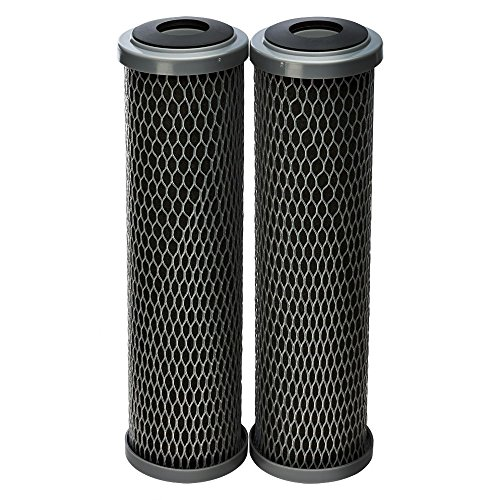 Culligan SCWH-5 Standard-Duty Whole House Water Filter Replacement Cartridges, 2-Pack, Black