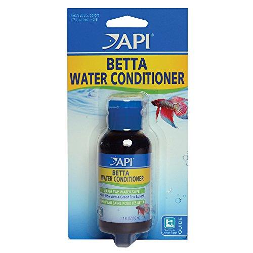 API BETTA WATER CONDITIONER Betta Fish Freshwater Aquarium Water Conditioner 1.7-Ounce Bottle, BETTA...