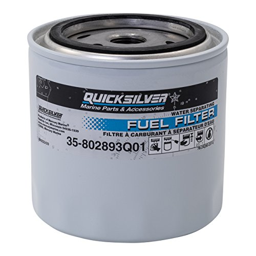 QuickSilver 802893Q01 Fuel/Water Separating Filter Quicksilver/Mercury, Unspecified, Unspecified