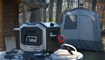 camping hot water heater