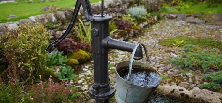 how to install a whole house water filter on a well